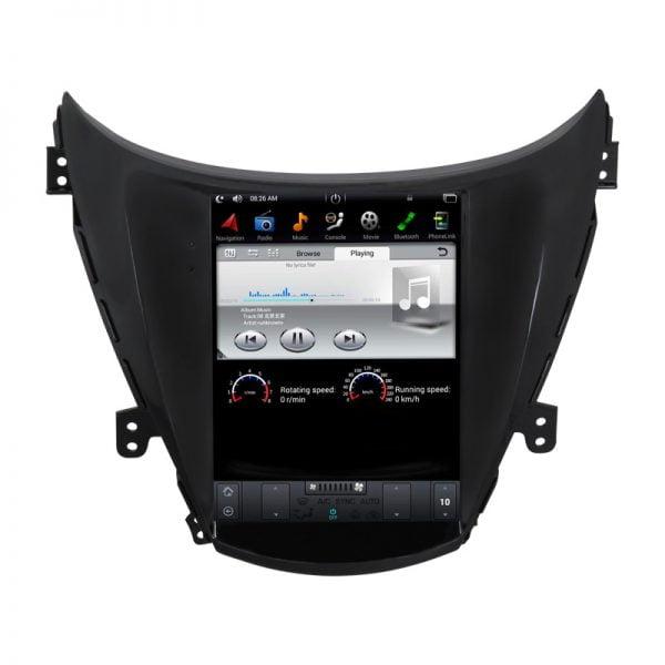 Hyundai Elantra 2010 - 2013 Android Monitor