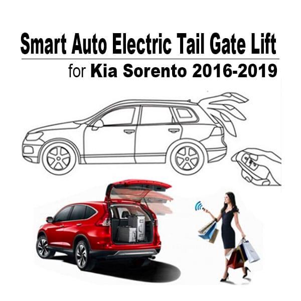 Shop Smart electric tailgate lift shop online for Kia Sorento 2016, 2017, 2018, 2019 at caronic.com in Dubai, UAE