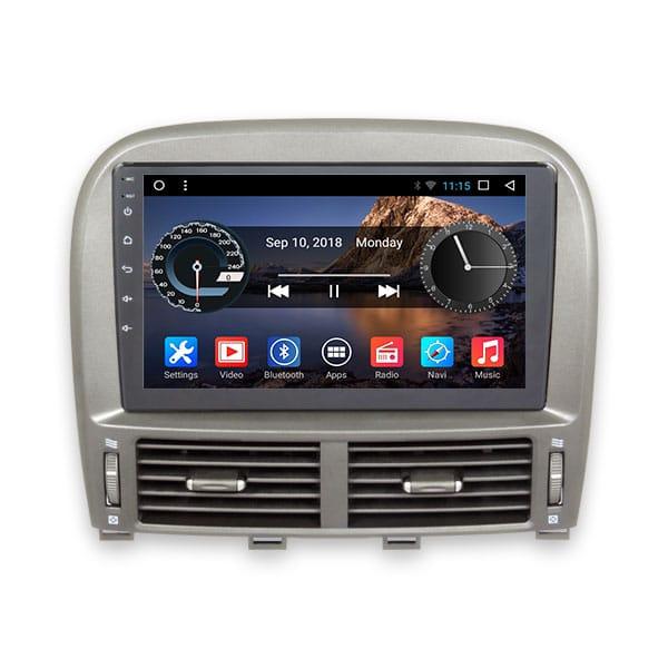 Shop Lexus 2001, 2002, 2003, 2004, 2005, 2006 Android monitor in Dubai, Abu Dhabi UAE & USA شاشة اندرويد لكزس ال اس ٤٣٠