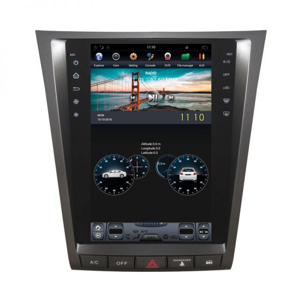 Shop Lexus GS 250, 300, 350, 2006, 2007, 2008, 2009, 2010, 2011 Tesla Style Android Monitor