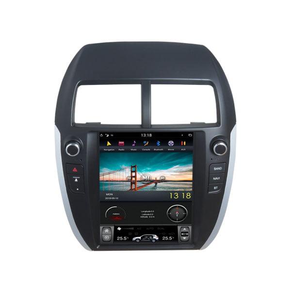 Shop Mitsubishi ASX 2008, 2009, 2010,2011,2012,2013,2014,2015,2016,2017,2018 Android Monitor Tesla Style in Dubai UAE & USA