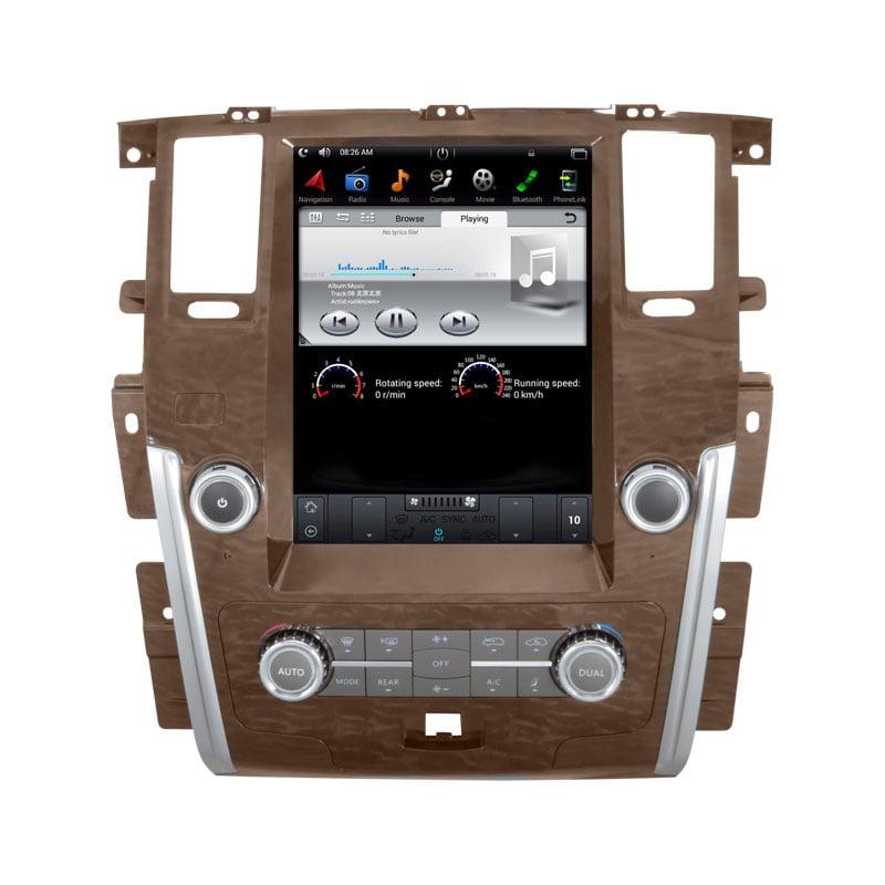 Nissan Patrol 2011 - 2019 Android Monitor