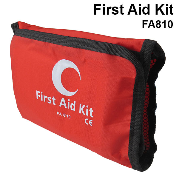 first aid kit bag red purchase online at caronic