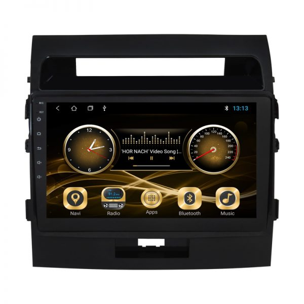 Toyota Land Cruiser 2008 - 2015 Android Monitor