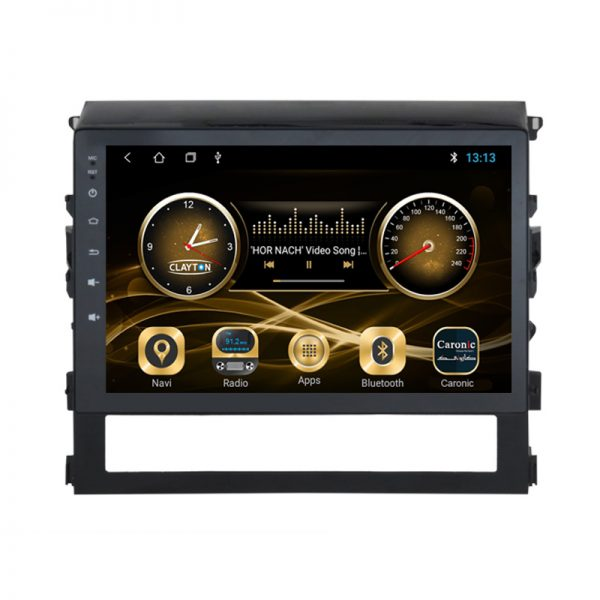 Toyota Land Cruiser 2016 - 2020 Android Monitor