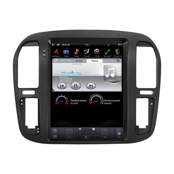 Toyota Landcruiser 1999 - 2002 Android Monitor