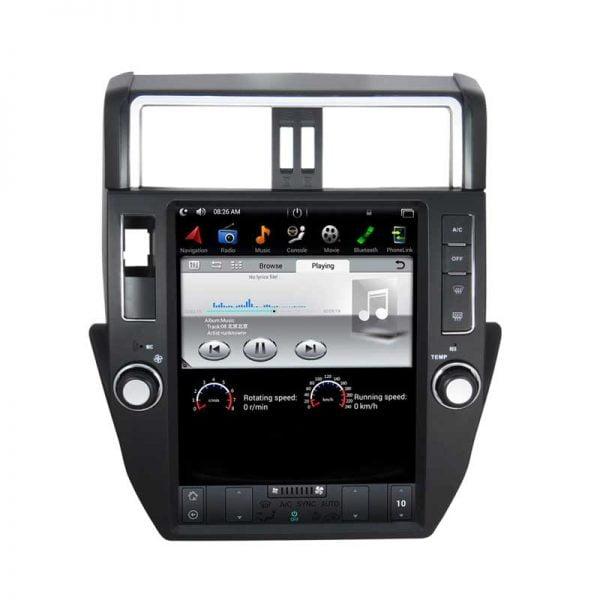 Shop Toyota Prado 2010, 2011, 2012, 2013 Android Monitor Tesla Screen in Dubai UAE& USA, Canada