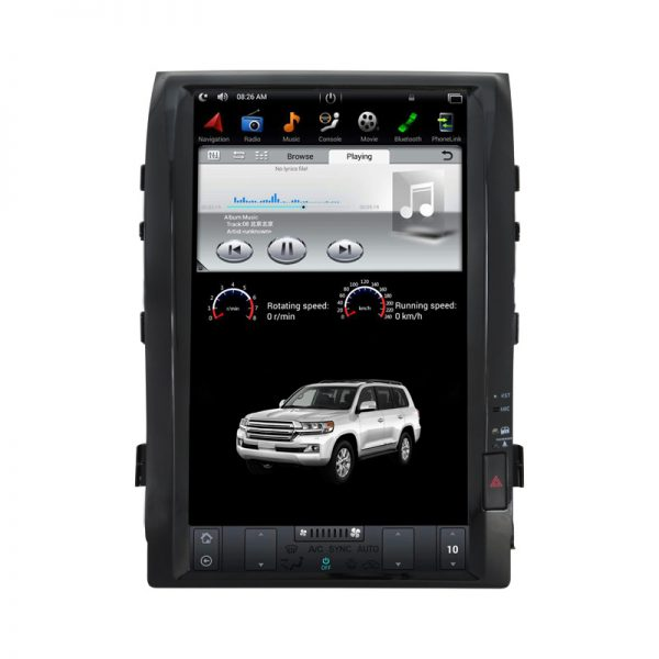 Toyota Land Cruiser VXR 2008 - 2015 Android Monitor