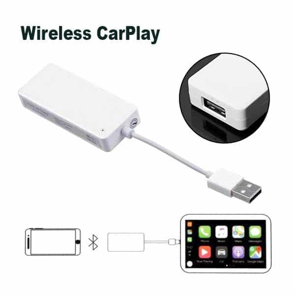 Wireless Apple Carplay dongle / USB Carplay Adapter for Android Car Screen Dubai UAE