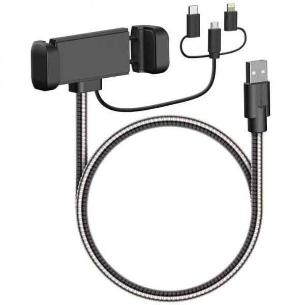 Lightning, Micro USB and Type C